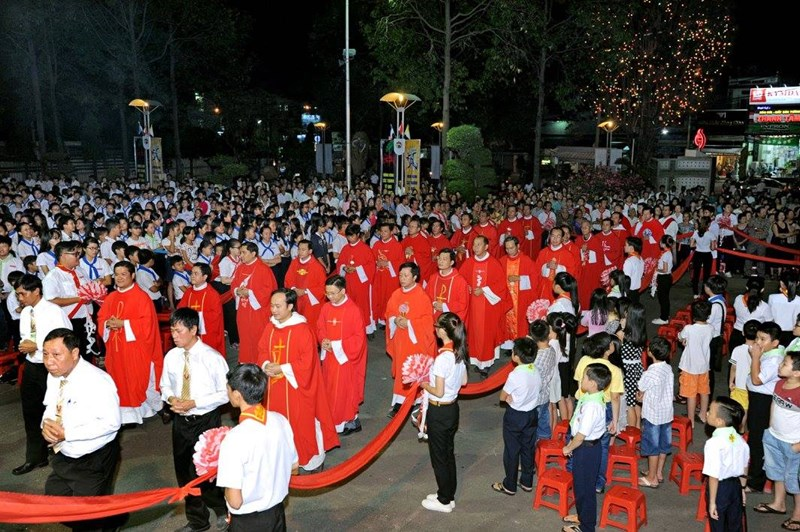 Thánh lễ mừng kính các thánh Tử Đạo Việt Nam - Bổn mạng Hạt Hố Nai