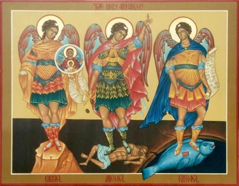 Các thiên thần của Thiên Chúa (29.9.2016 – Thứ Năm, Các Tổng lãnh thiên thần Micae, Gabrien, Raphaen)