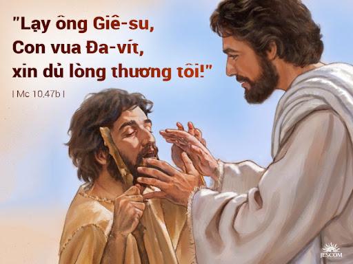 Xin thương xót tôi (24.10.2021 – Chúa nhật 30 Thường niên, Năm B)